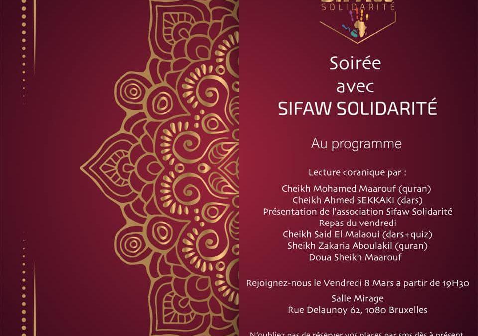 Condensé de la soirée du Gala de présentation de Sifaw Solidarité